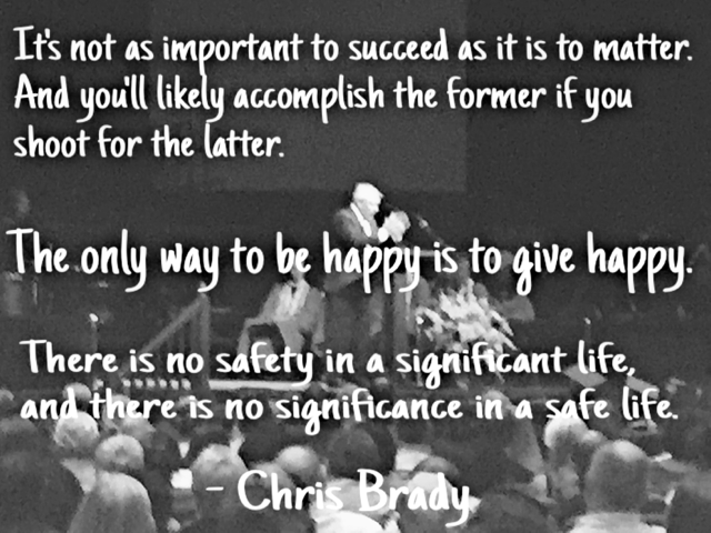 Chris Brady quotes