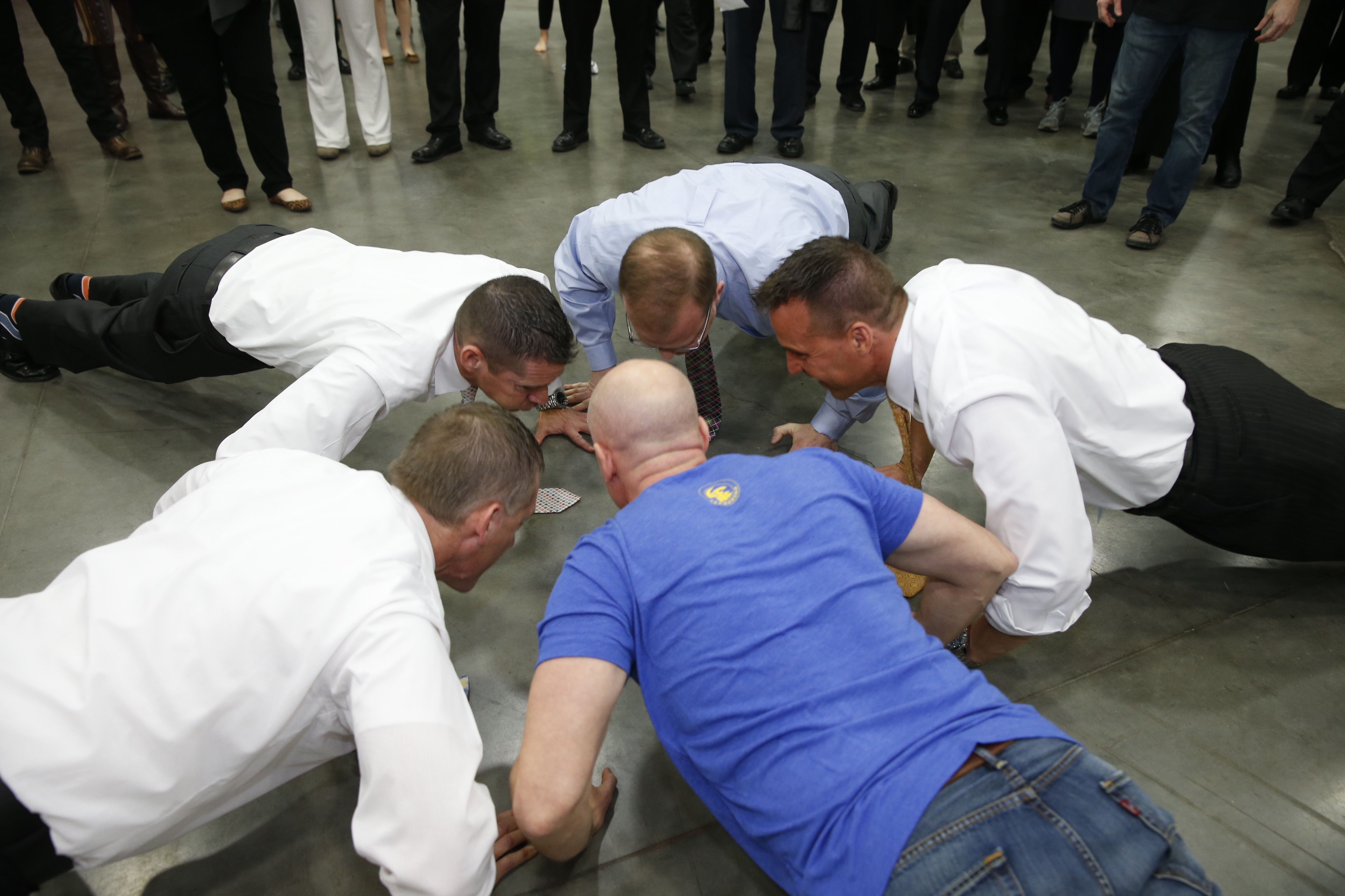 Life Leadership Push-up Contest
